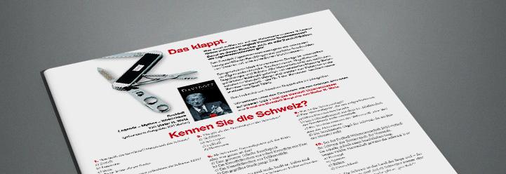 Auflösung Schweiz-Rätsel