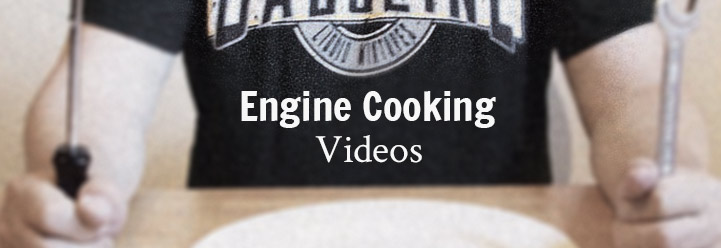 Es kochen die Motoren