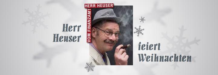 Herr Heuser feiert Weihnachten