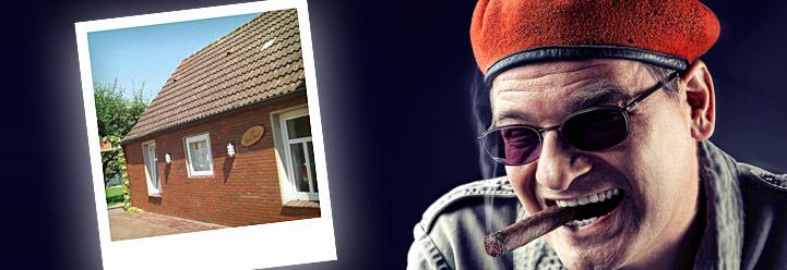 """Rotierende Komiker im """"sehr kleinen Haus"""""""