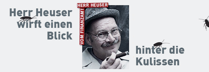 Herr Heuser wirft einen Blick hinter die Kulissen
