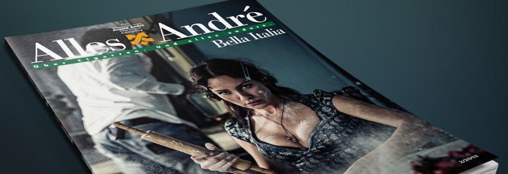 """Neue Ausgabe von Alles André: """"Bella Italia"""""""