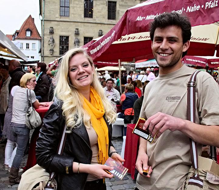 Clubmaster beim Weinsommer in Osnabrück