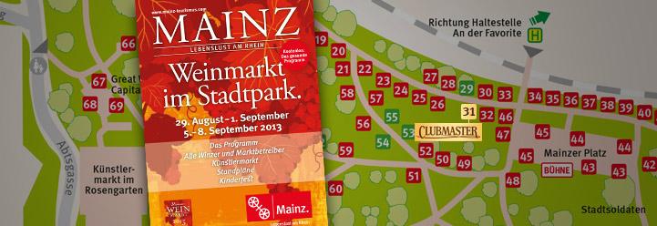 Clubmaster auf dem Mainzer Weinmarkt