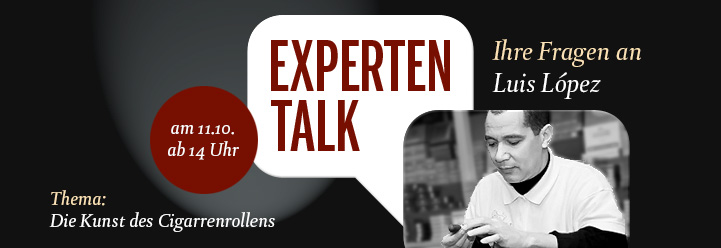 Experten-Talk mit Luis López