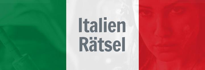 Italien-Rätsel – Teil 1/3