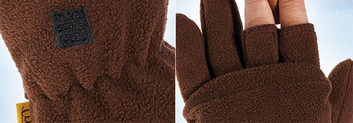 Die Handschuhe im Detail