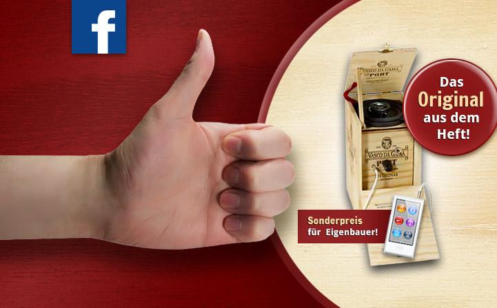 Zigarrenkisten-Lautsprecher zu gewinnen!