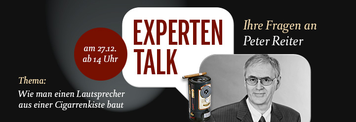Experten-Talk mit Peter Reiter am 27. Dezember 2013