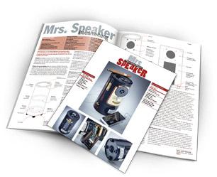 "Bauanleitung ""Mrs. Speaker"""
