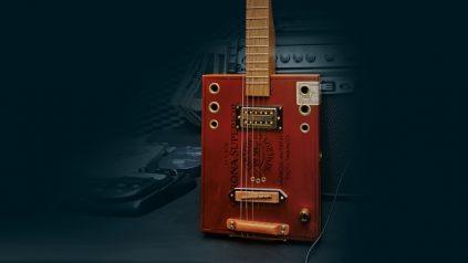 Zigarrenkisten-Gitarren