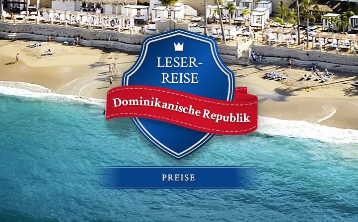 Leserreise Dominikanische Republik: Preise