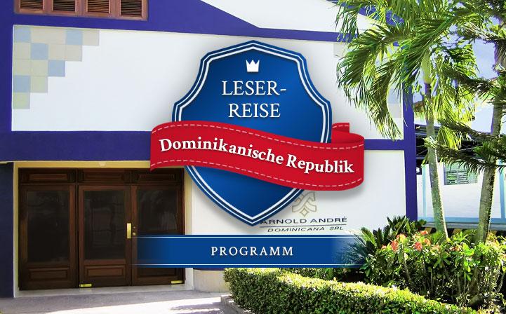 Leserreise Dominikanische Republik: Programm
