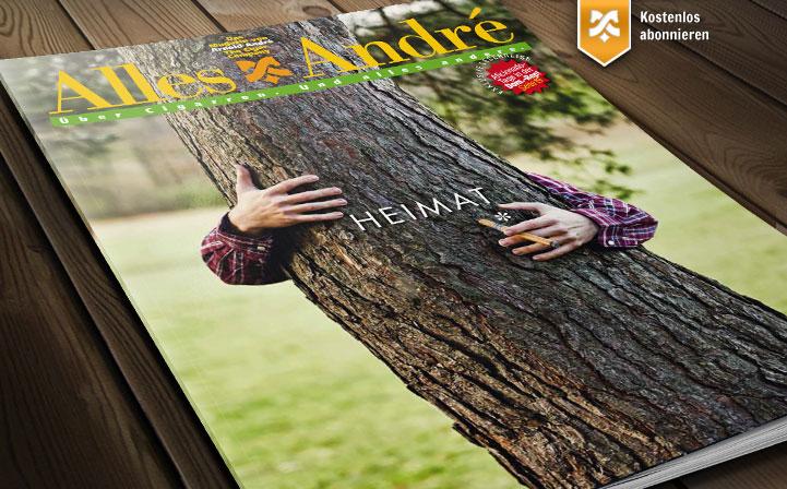 """Neue Ausgabe von Alles André: """"Heimat"""""""