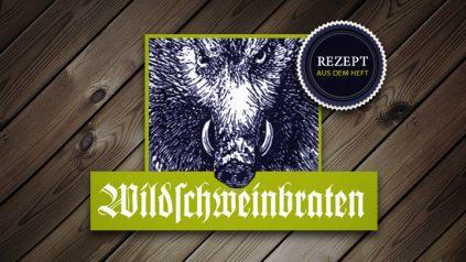 Wildschweinbraten