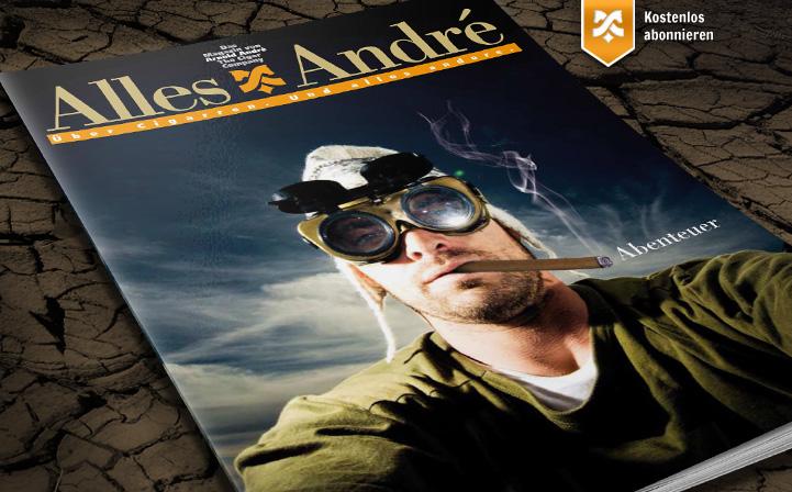 """Neue Ausgabe von Alles André: """"Abenteuer"""""""