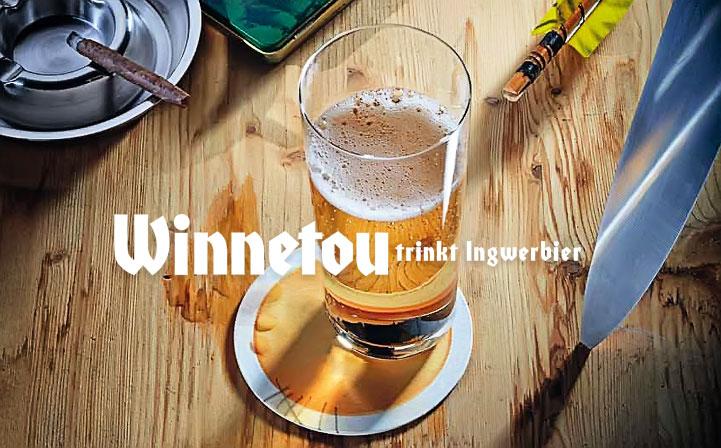 Karl May Drink: Ingwerbier