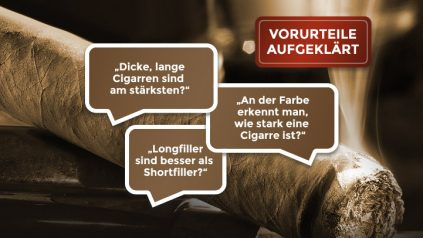 Zigarren Vorurteile aufgeklaert