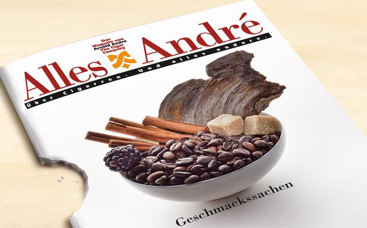"""Neue Ausgabe von Alles André: """"Geschmackssachen"""""""