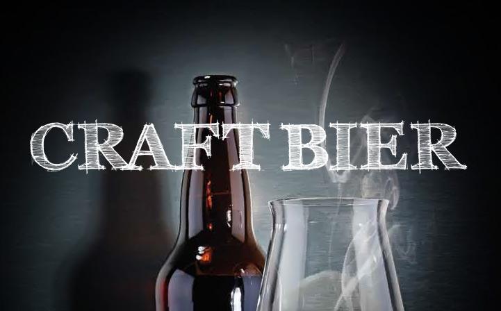 Craft Biere und Zigarren