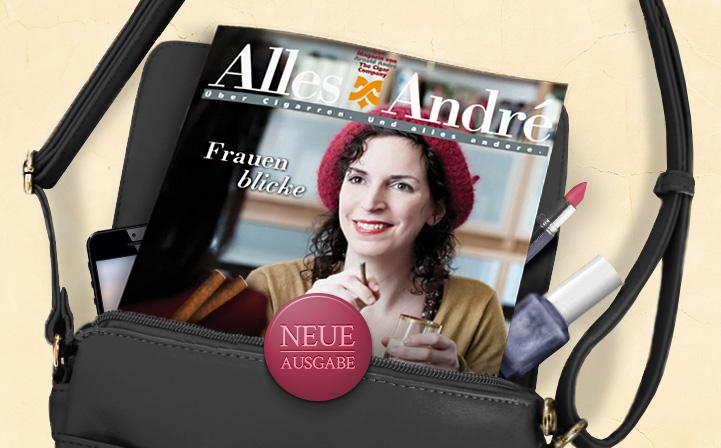 """Neue Ausgabe von Alles André: """"Frauenblicke"""""""