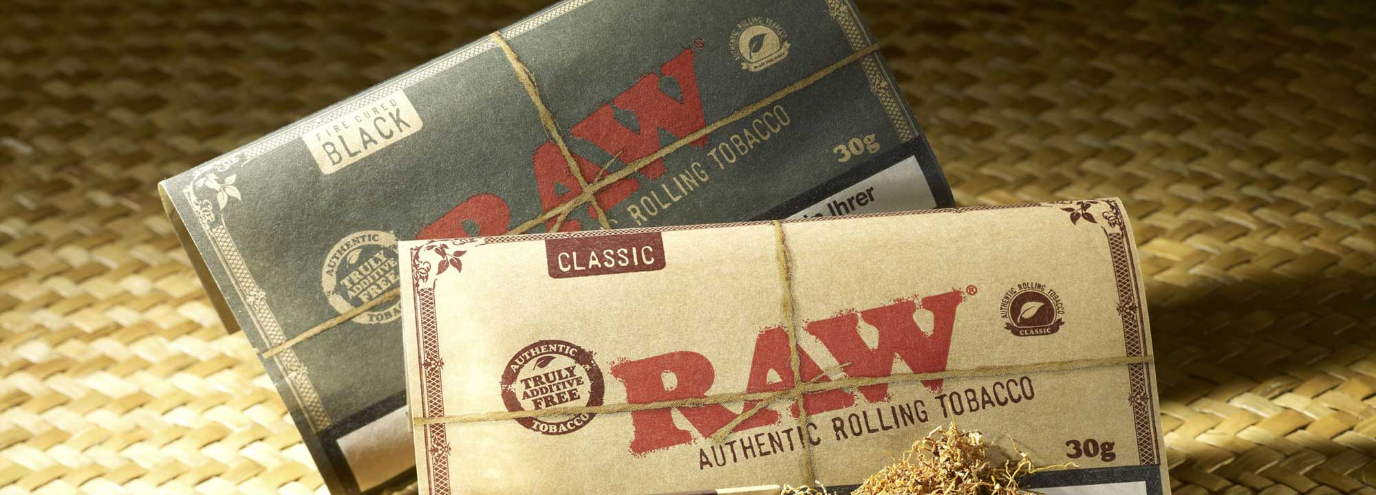 RAW – Natural Authentic Tobacco