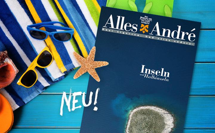 """Neue Ausgabe von Alles André: """"Inseln und Halbinseln"""""""