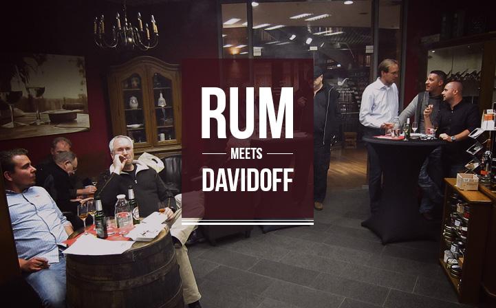 Rum meets Davidoff
