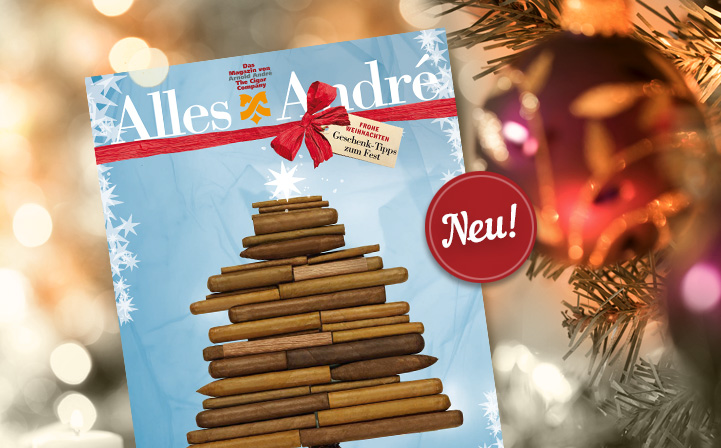 Neue Ausgabe von Alles André: Geschenk-Tipps zum Fest