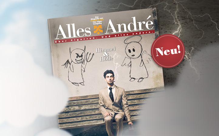 """Neue Ausgabe von Alles André: """"Himmel & Hölle"""""""
