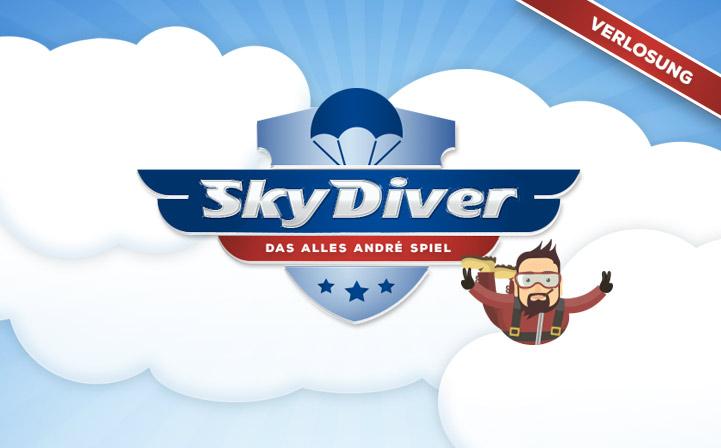Mitmachen beim Skydiver-Spiel!