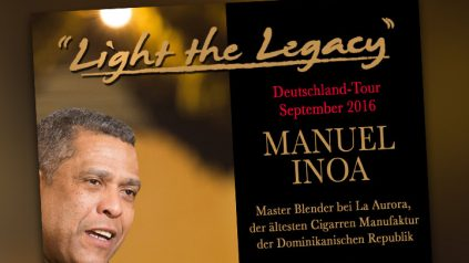 Master-Blender Manuel Inoa auf Tour