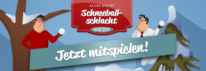 Alles André Schneeballschlacht