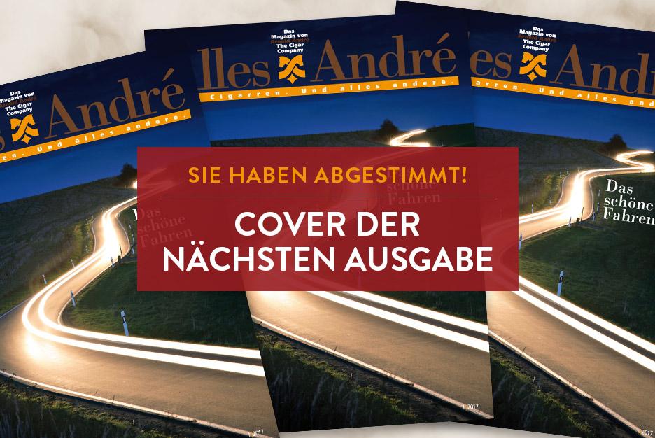 Cover für die nächste Ausgabe gewählt