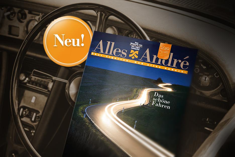 """Neue Ausgabe von Alles André: <br> """"Das schöne Fahren"""""""