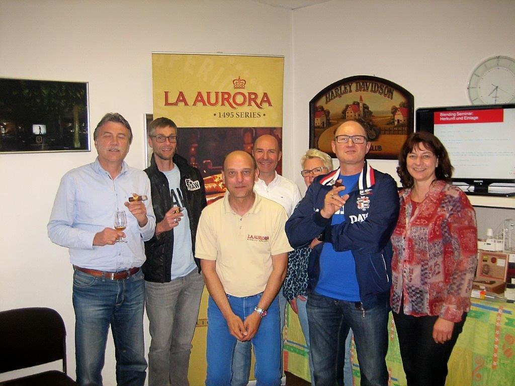 La Aurora Cigar Tasting in Stuttgart