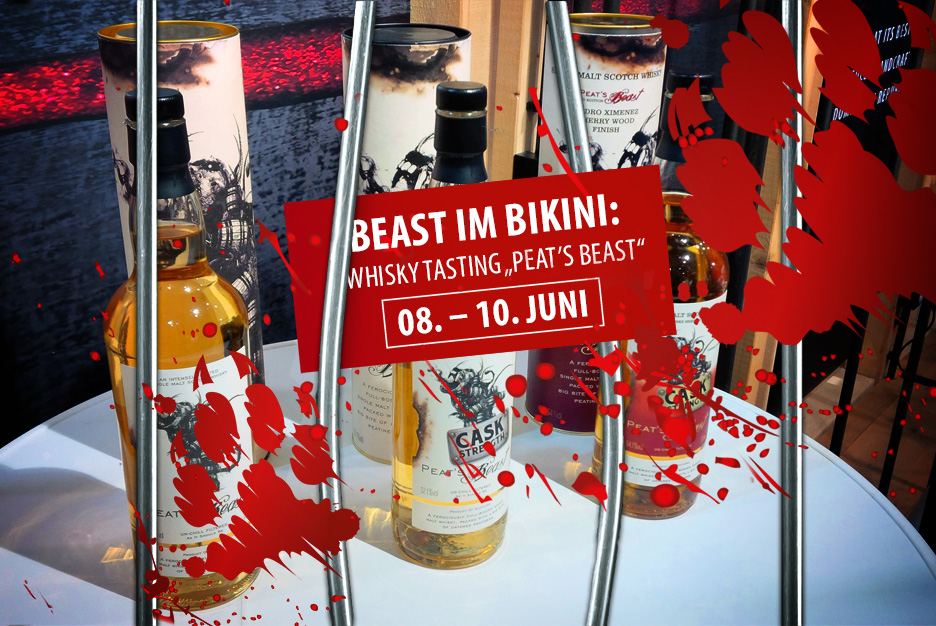 BEAST IM BIKINI: Whisky-Tasting