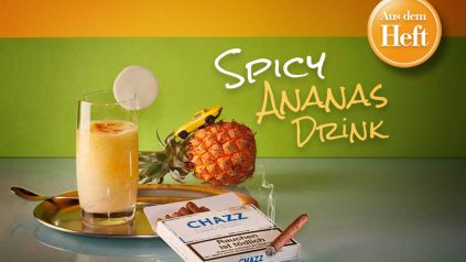 Spicy Ananas Drink
