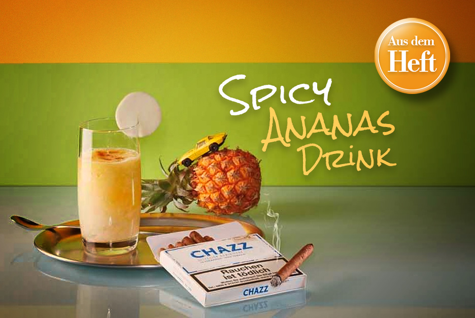 Spicy-Ananas-Drink