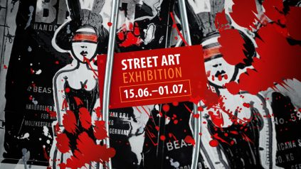 BEAST im Bikini: Street Art Exhibition mit RON MILLER