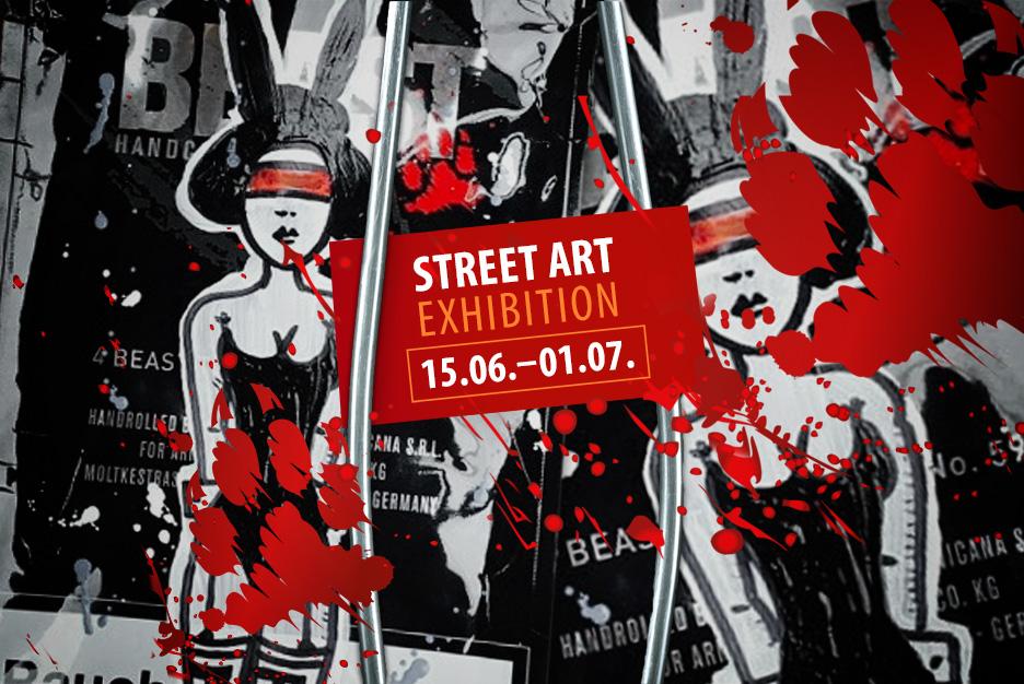BEAST im Bikini: <br /> Street Art Exhibition mit RON MILLER