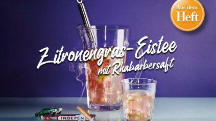 Zitronengras Eistee