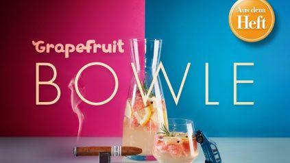 Grapefruit-Bowle: Rezept aus dem Heft