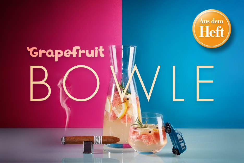Rezept aus dem Heft: Grapefruit-Bowle