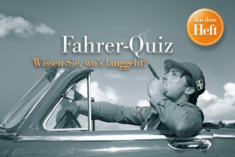 Fahrer-Quiz