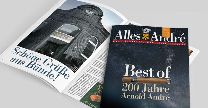 Alles André Ausgabe 2/2017 - Best of 200 Jahre Arnold André