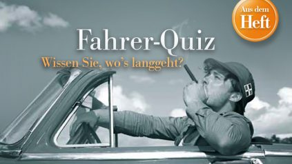 "Auflösung ""Fahrer-Quiz"""