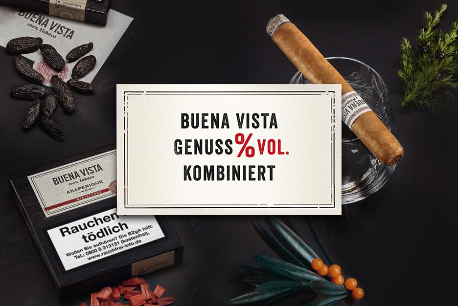 BUENA VISTA Zigarren genussvoll kombiniert