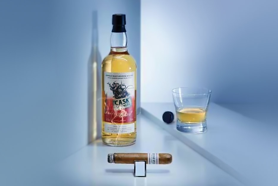Zigarre in Kombination mit Whisky: <br /> Buena Vista &#038; Peat's Beast Whisky