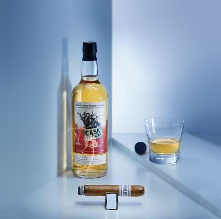 Zigarre in Kombination mit Whisky: Buena Vista und Peat's Beast Whisky